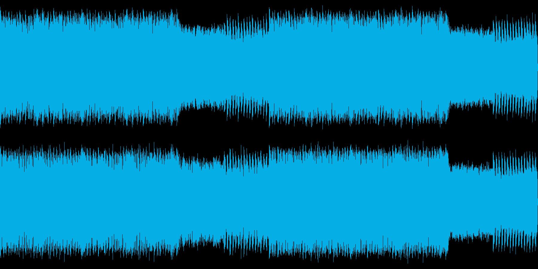 牧歌的なカントリー風ハウスループの再生済みの波形