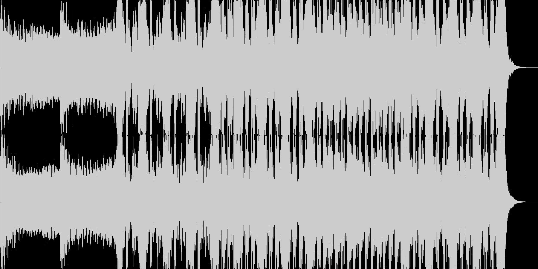 ゲームやアニメなどに合うラスボス感ある曲の未再生の波形