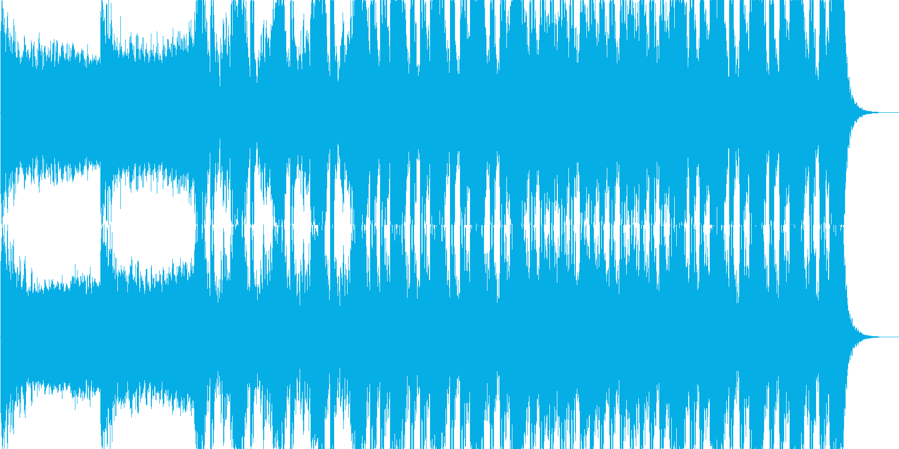 ゲームやアニメなどに合うラスボス感ある曲の再生済みの波形