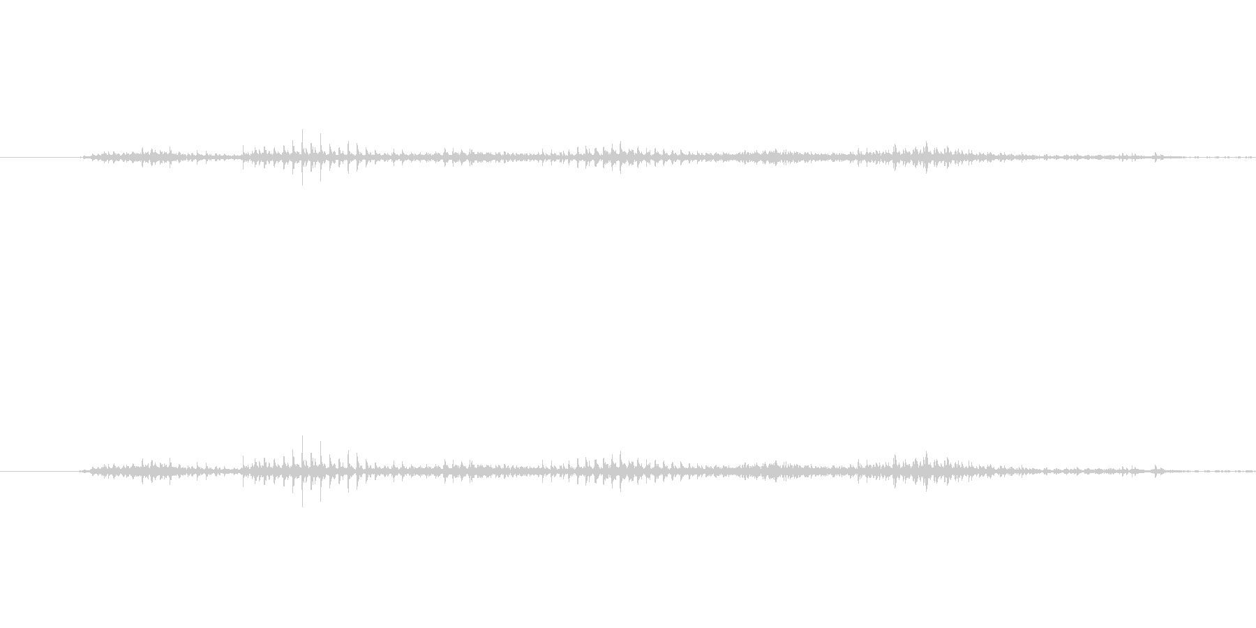 ダイヤルを回す音。カラカラとガラガラの…の未再生の波形