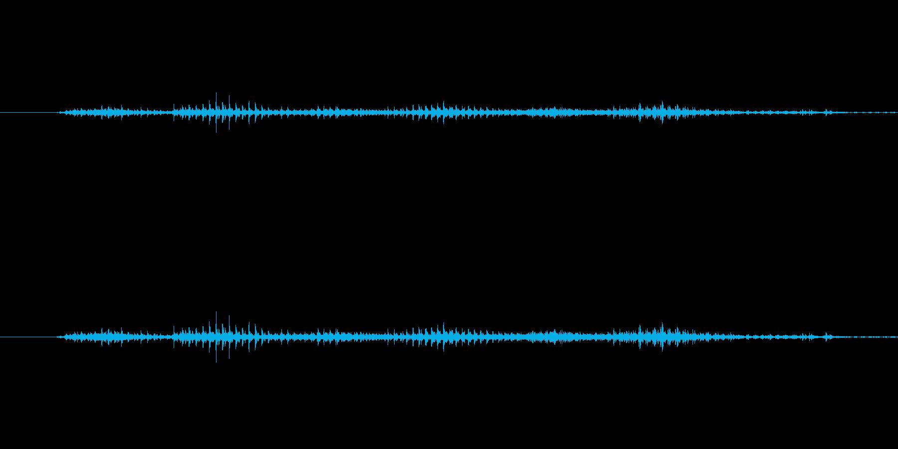 ダイヤルを回す音。カラカラとガラガラの…の再生済みの波形