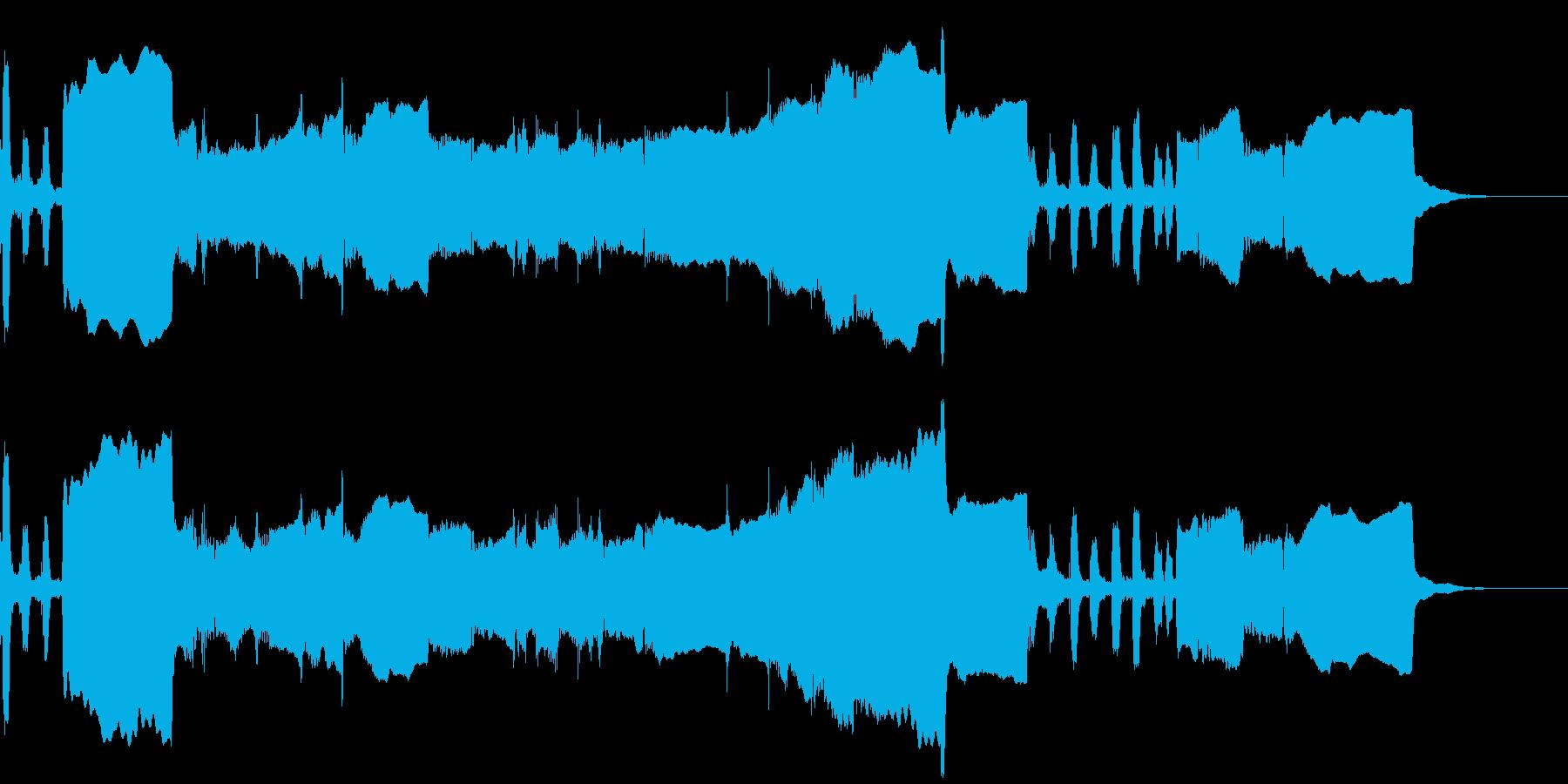 ホルンソロ、冒険のBGM、ジングル、CMの再生済みの波形
