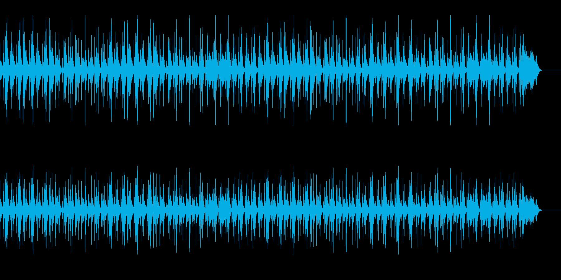 【youtube】ほのぼの系マリンバソロの再生済みの波形