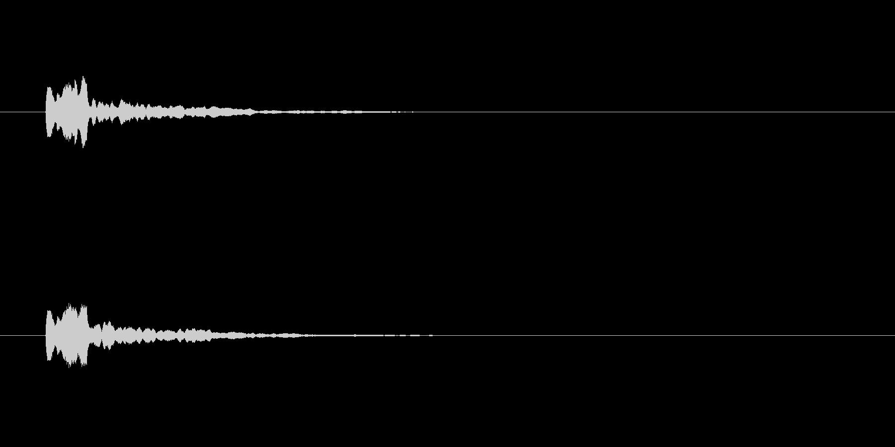【サイバー21-1】の未再生の波形