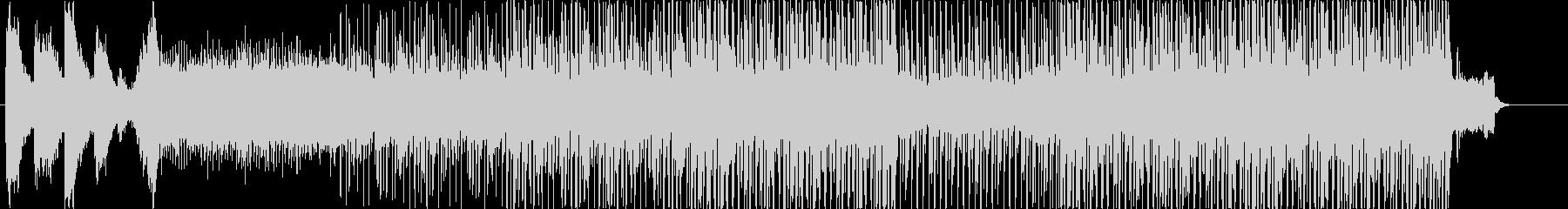 ピアノで始まるムーディーなハウス風BGMの未再生の波形