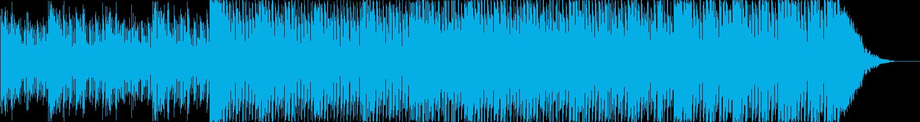 幻想的 落ち着いた 冷静になる インストの再生済みの波形