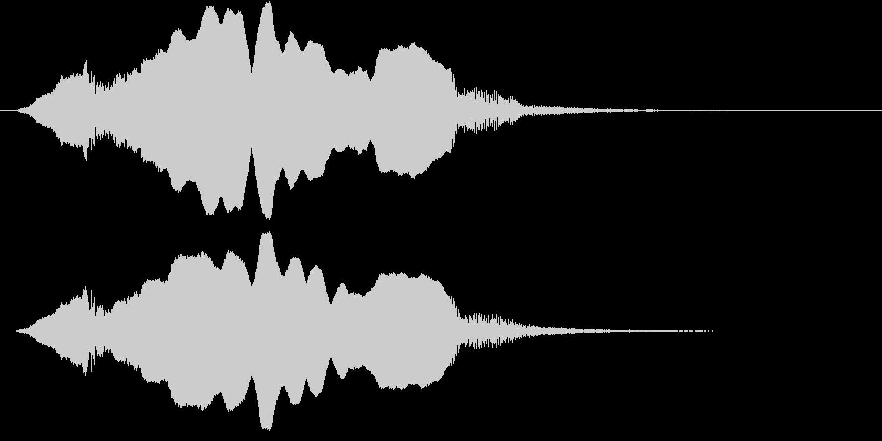 音侍SE「尺八フレーズ1」エニグマ音01の未再生の波形
