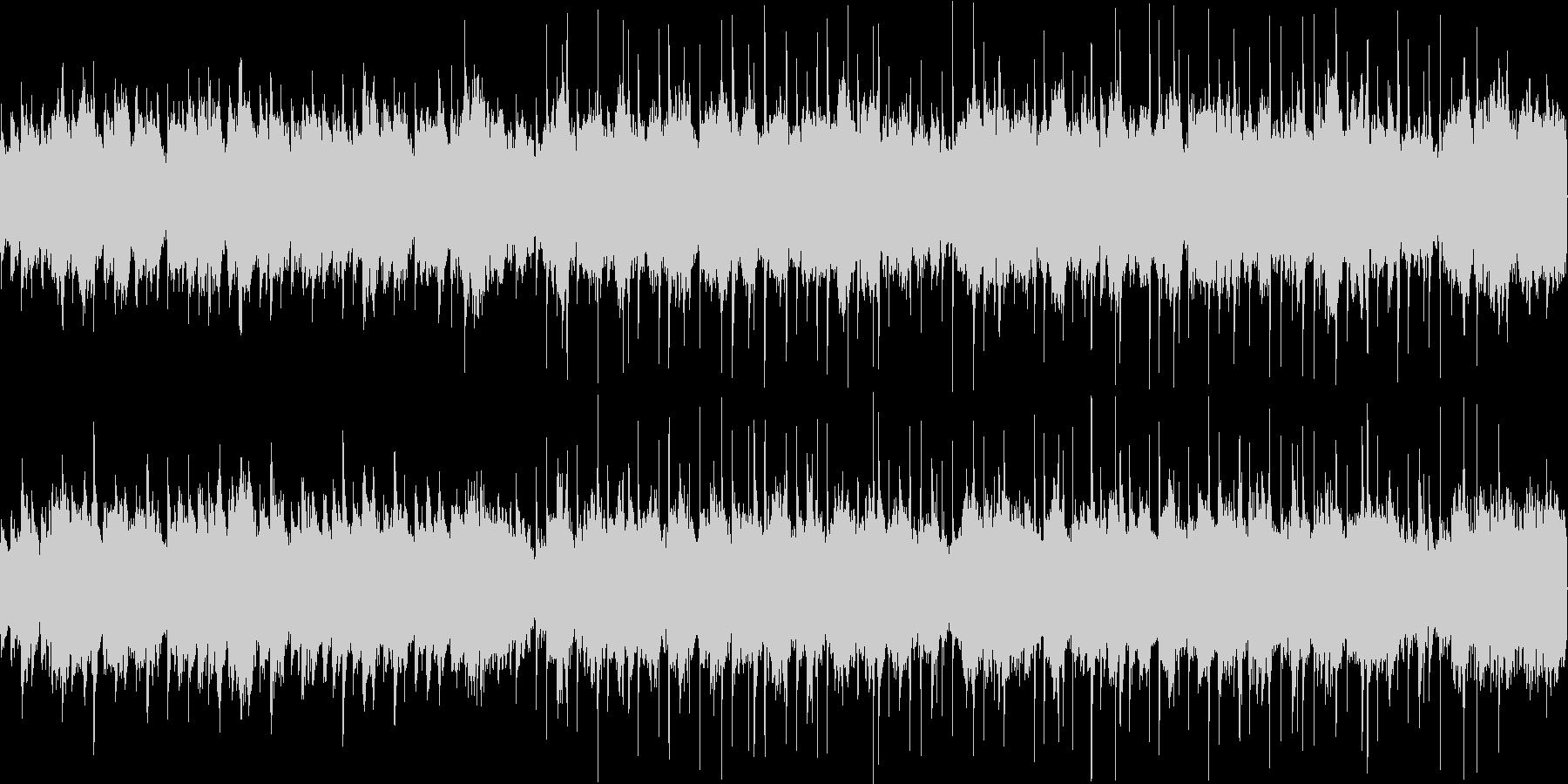 ハロウィンをイメージした怪しい雰囲気の曲の未再生の波形