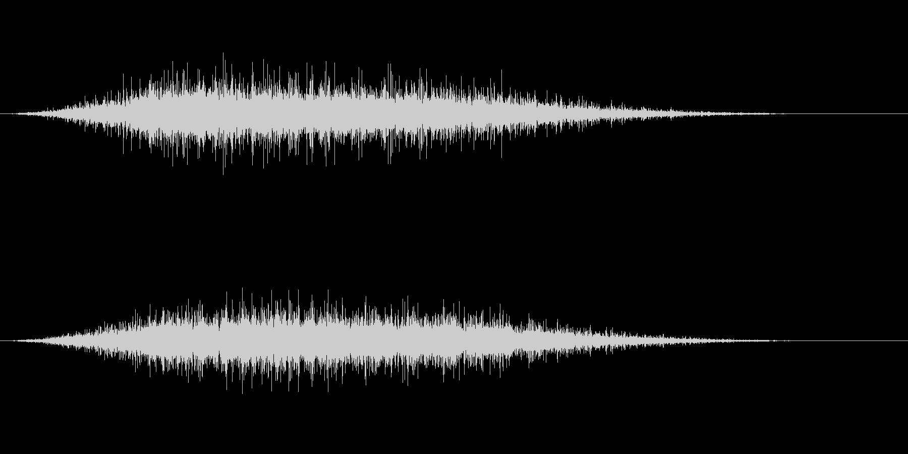 拍手2 (パチパチパチパチ)の未再生の波形