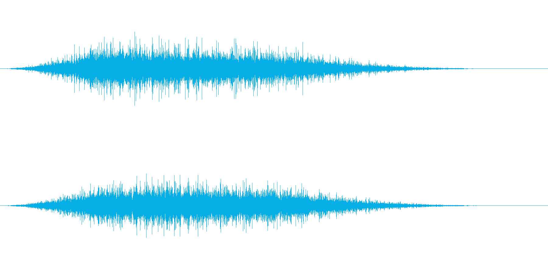 拍手2 (パチパチパチパチ)の再生済みの波形