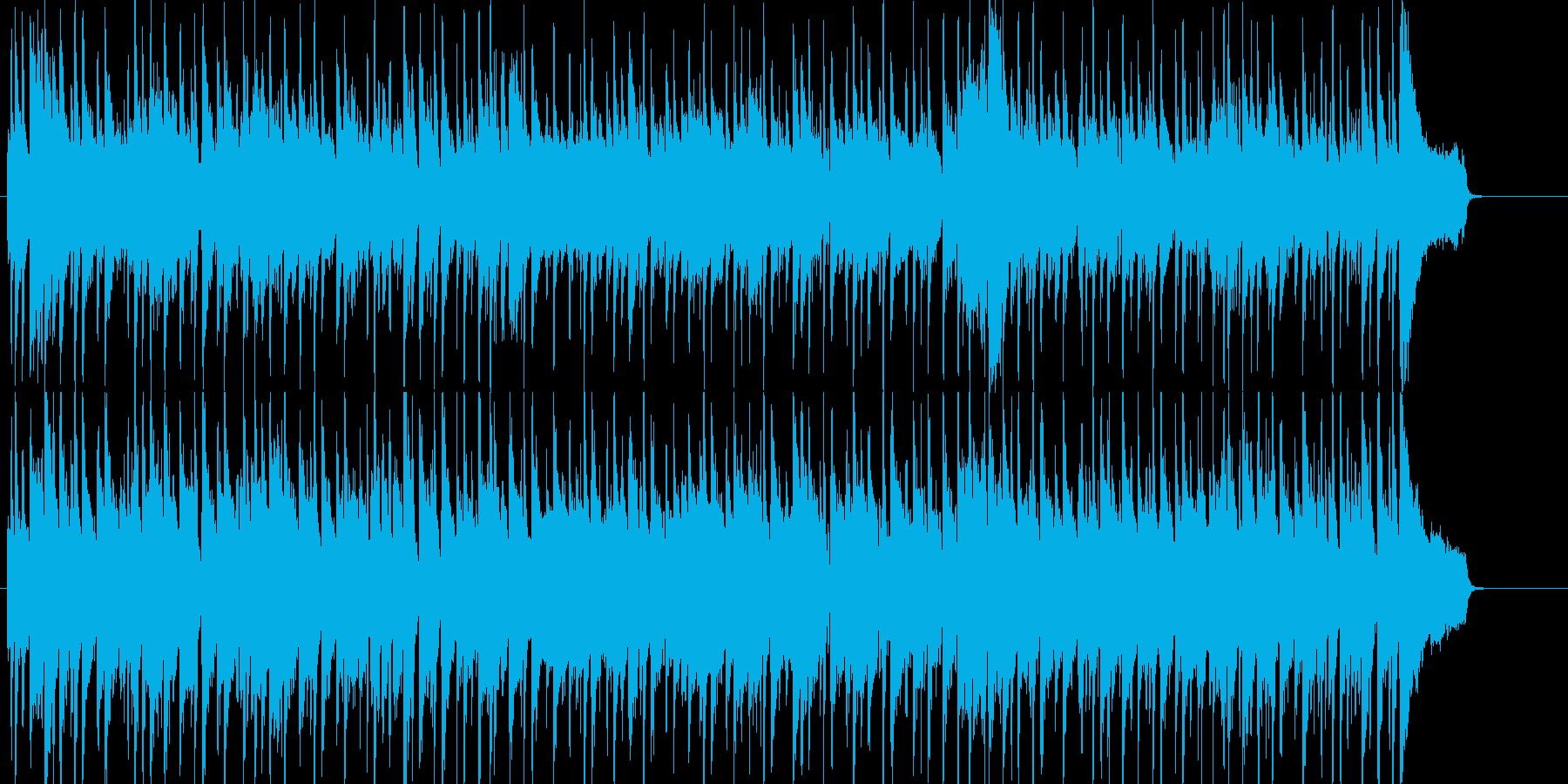 店内向けの爽やかで明るいピアノポップの再生済みの波形