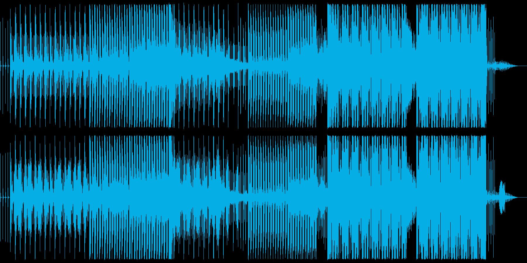 日本の四季をめぐるようなBGMの再生済みの波形