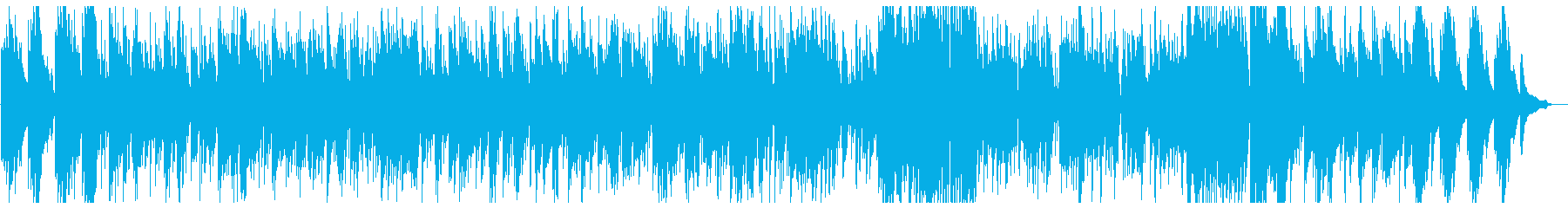 スタイリッシュなピアノトリオの再生済みの波形