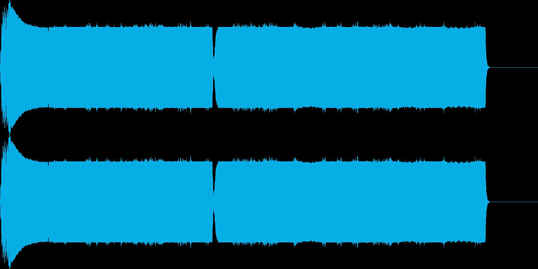 ピュルルル(マイナス_エラー)の再生済みの波形