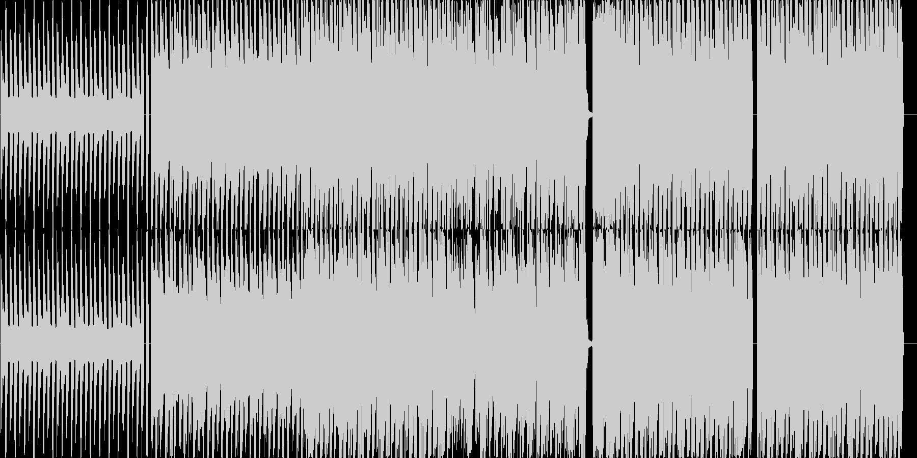 EDMインストの未再生の波形