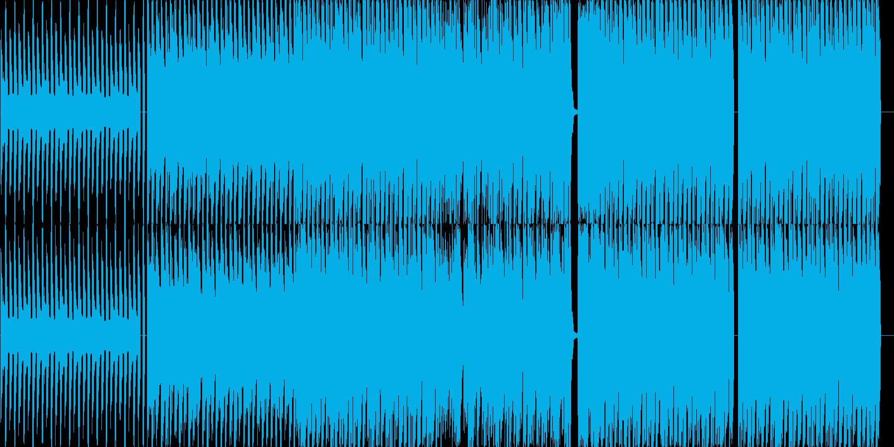 EDMインストの再生済みの波形