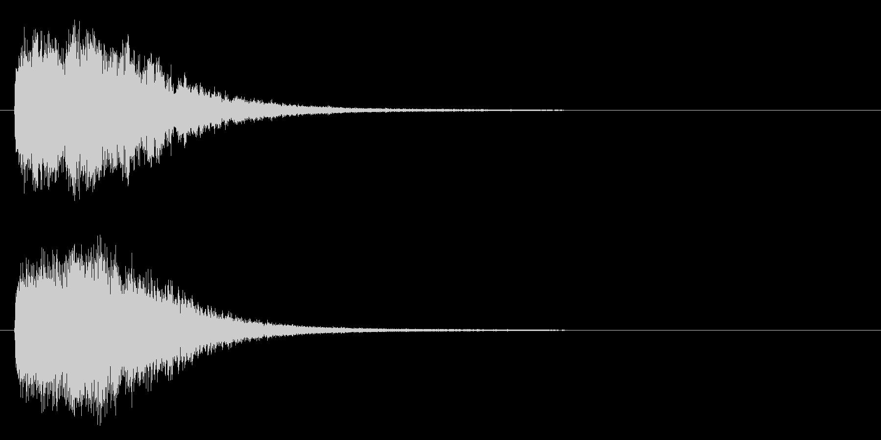 スタート、ロゴ等の未再生の波形