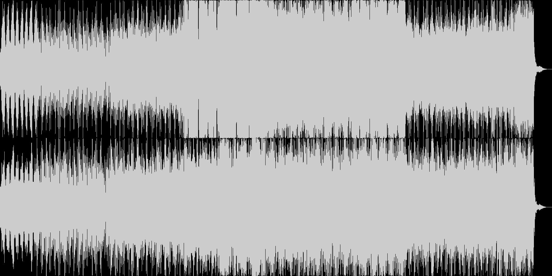 ポールモーリア風サウンドの切ない曲の未再生の波形