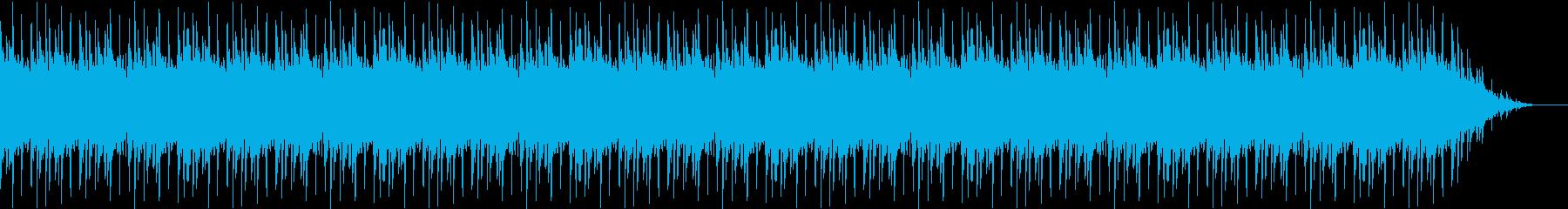 歪んだベースのソロの再生済みの波形
