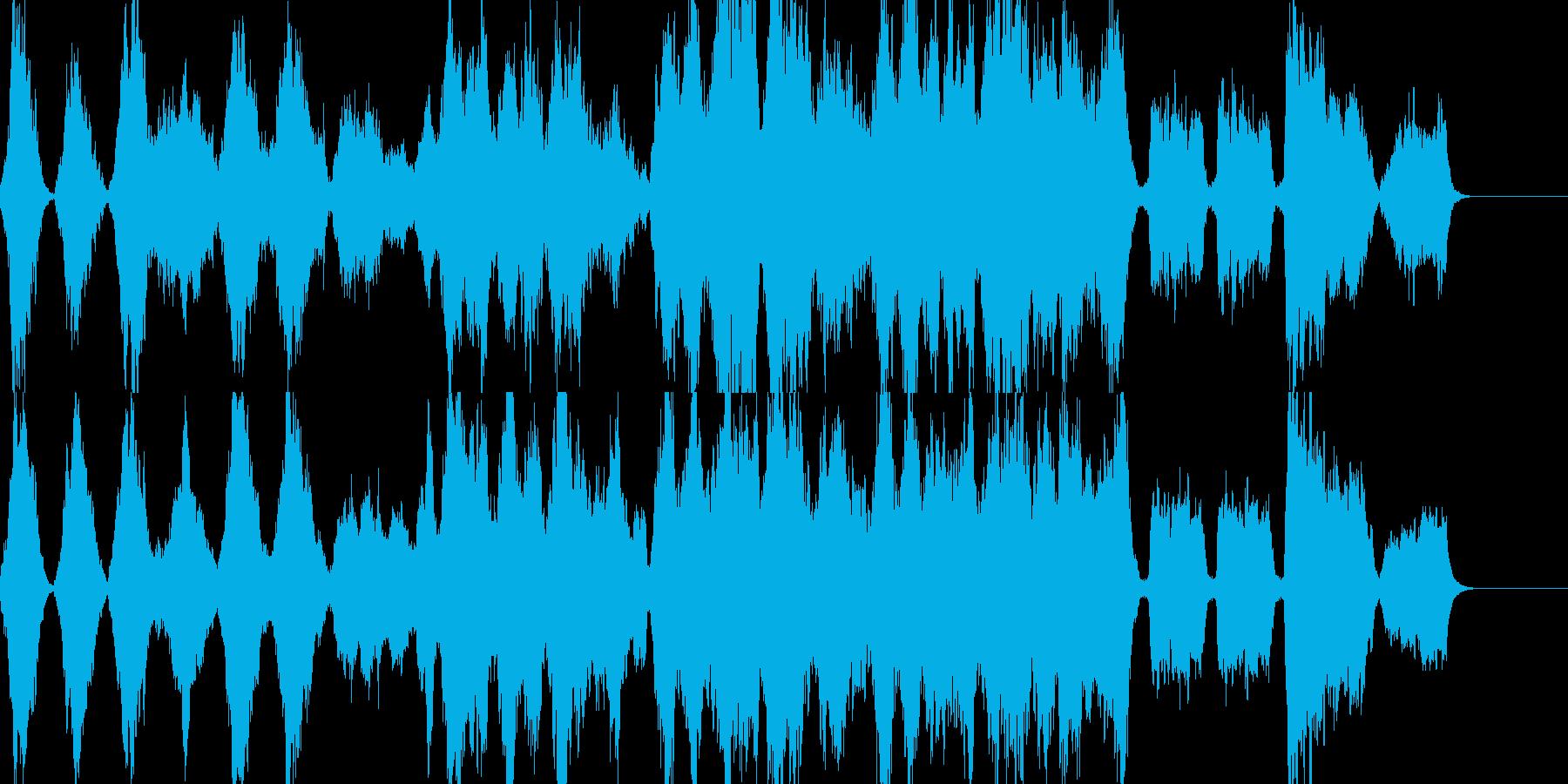 バラード・ストリングス・感動的の再生済みの波形