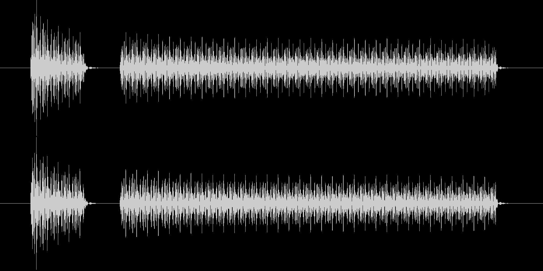ブブー(クイズ・不正解・ブザー音)02の未再生の波形