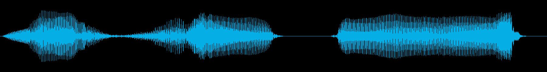 の方向の再生済みの波形