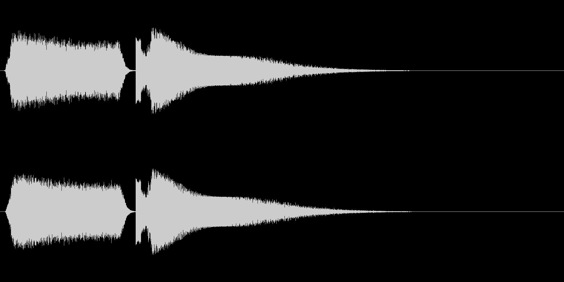 シュワーピチュン 移動 光線 魔法の未再生の波形