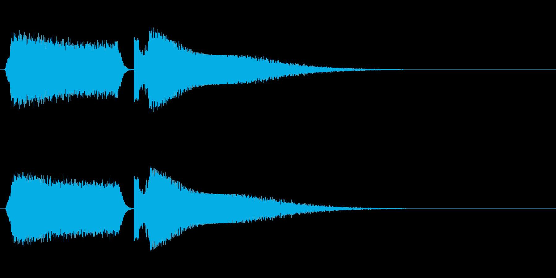シュワーピチュン 移動 光線 魔法の再生済みの波形
