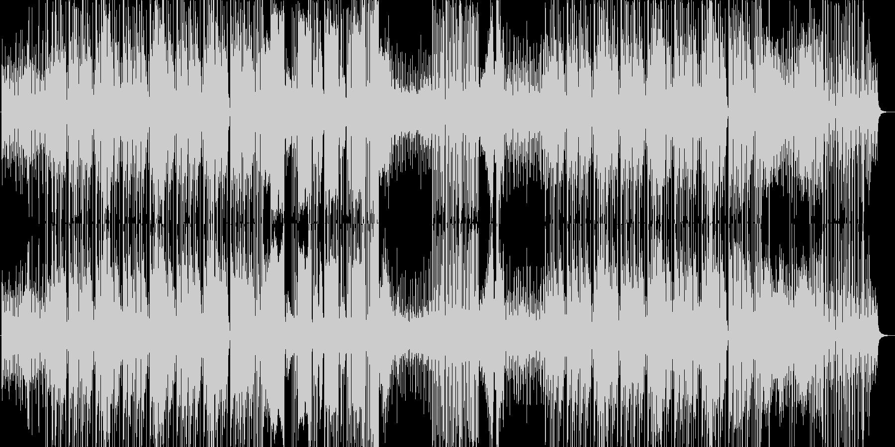 怪しさを感じさせるHIPHOPMUSICの未再生の波形