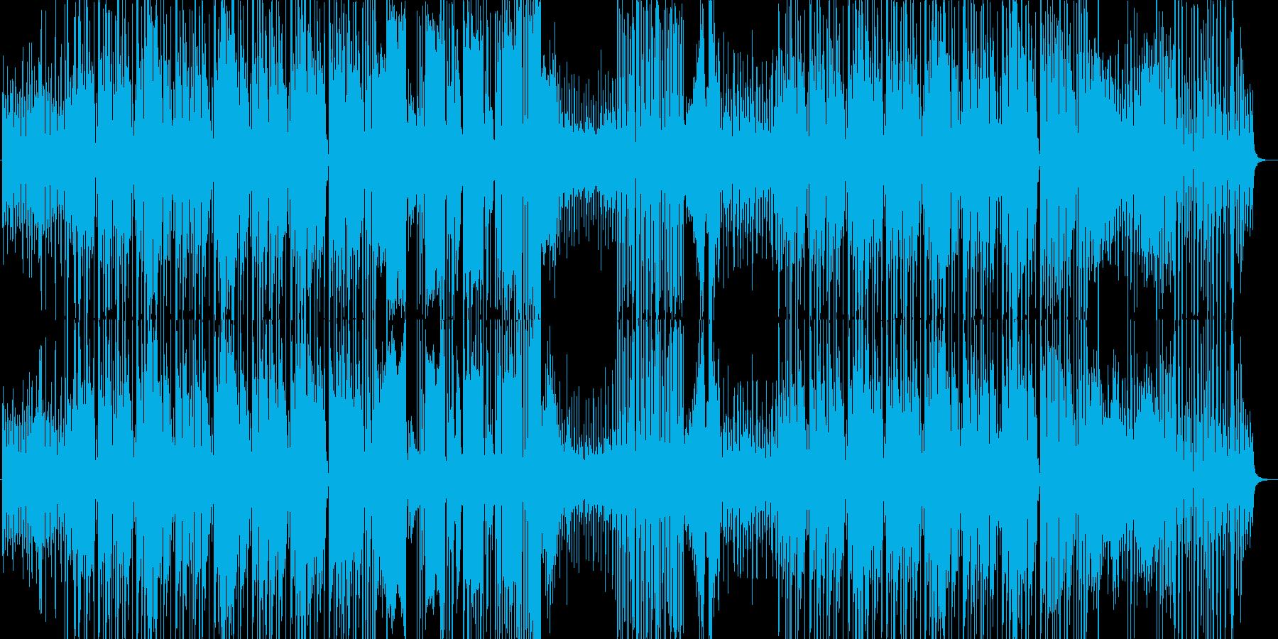 怪しさを感じさせるHIPHOPMUSICの再生済みの波形