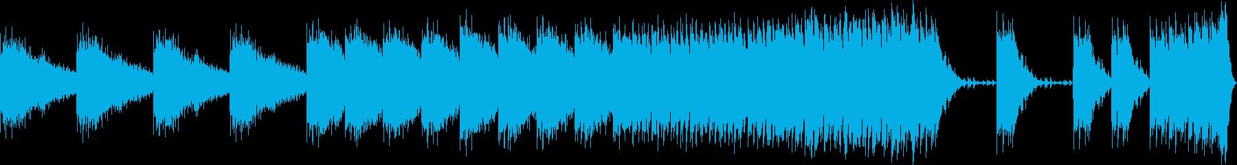 始まりを予兆するかのようなBGMの再生済みの波形