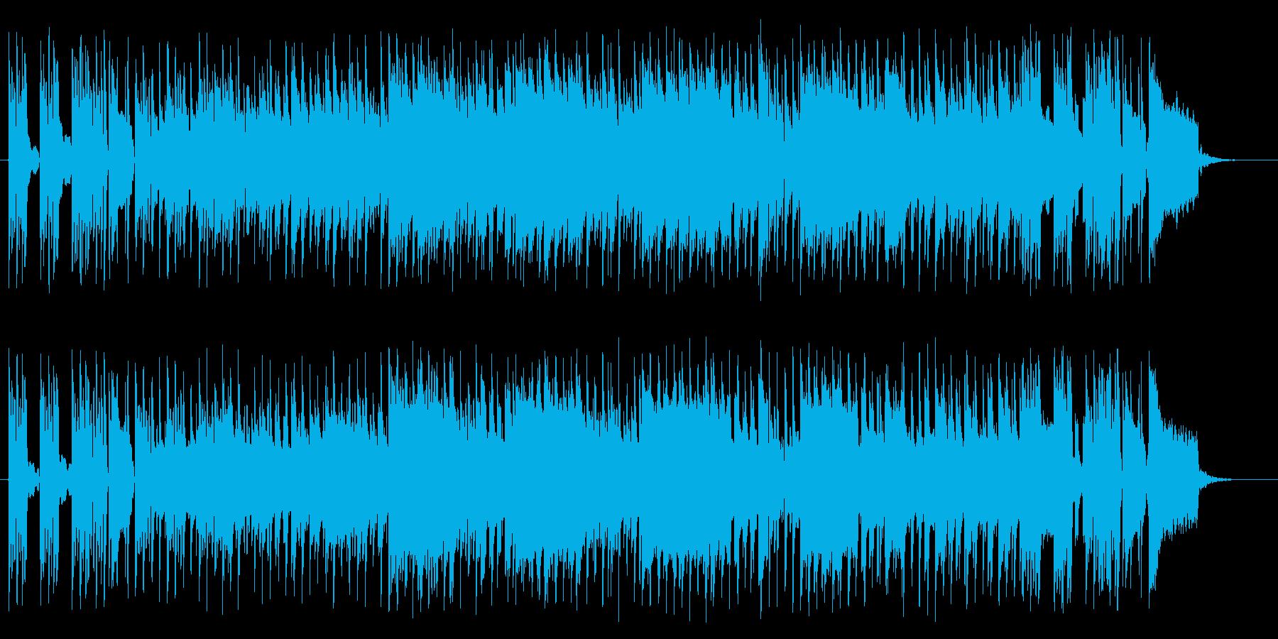 リズミカルで華麗なピアノサウンドの再生済みの波形