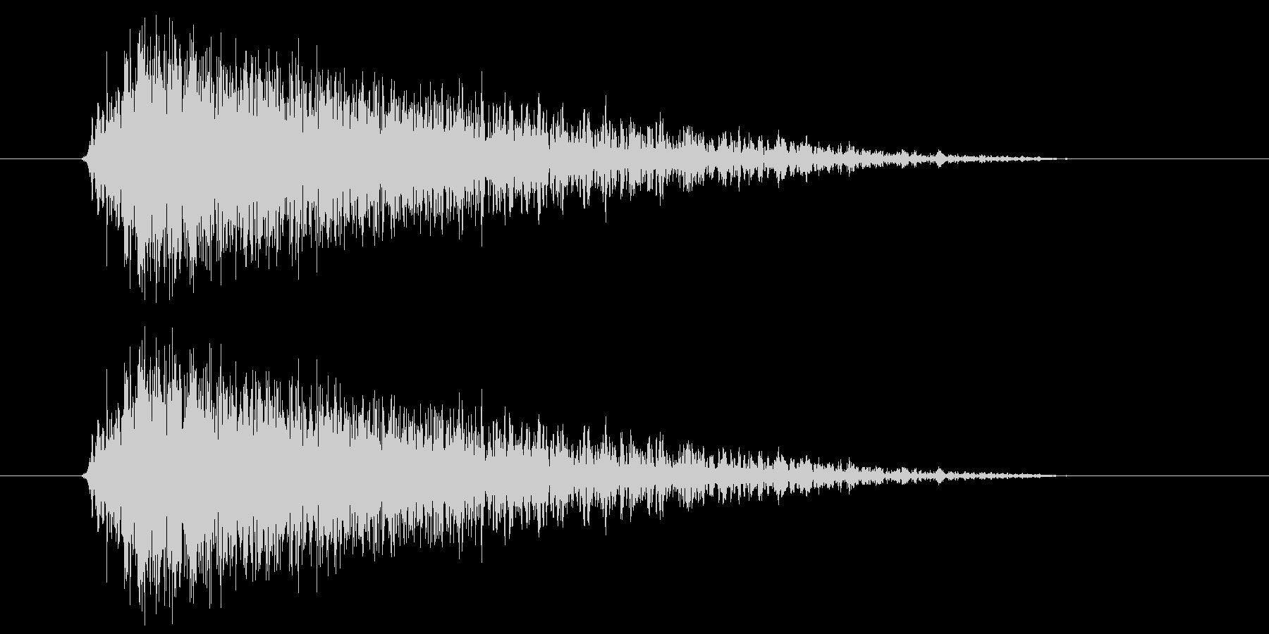 ビュー(強い風の音) 01の未再生の波形