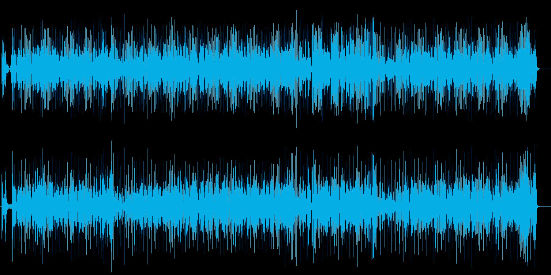 ダンス系ポップ(ヒップホップ風)の再生済みの波形
