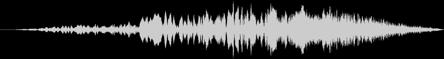 車 レース ブレーキ/タイヤスキール音6の未再生の波形