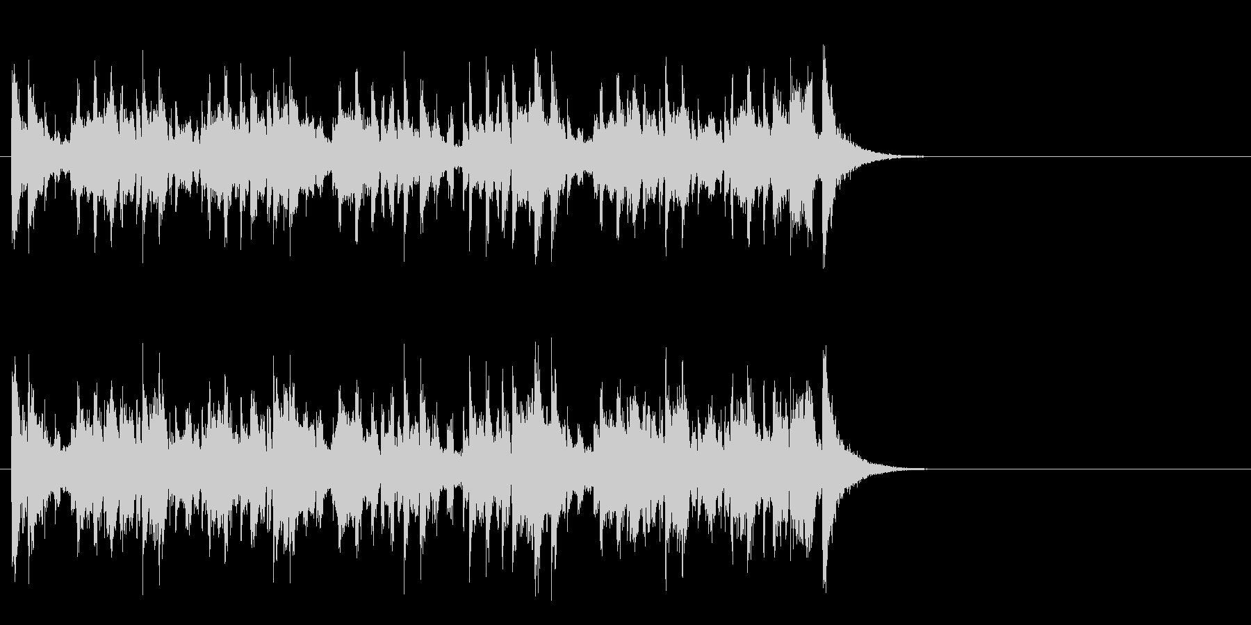 軽妙なファンク ポップ(Aメロ)の未再生の波形