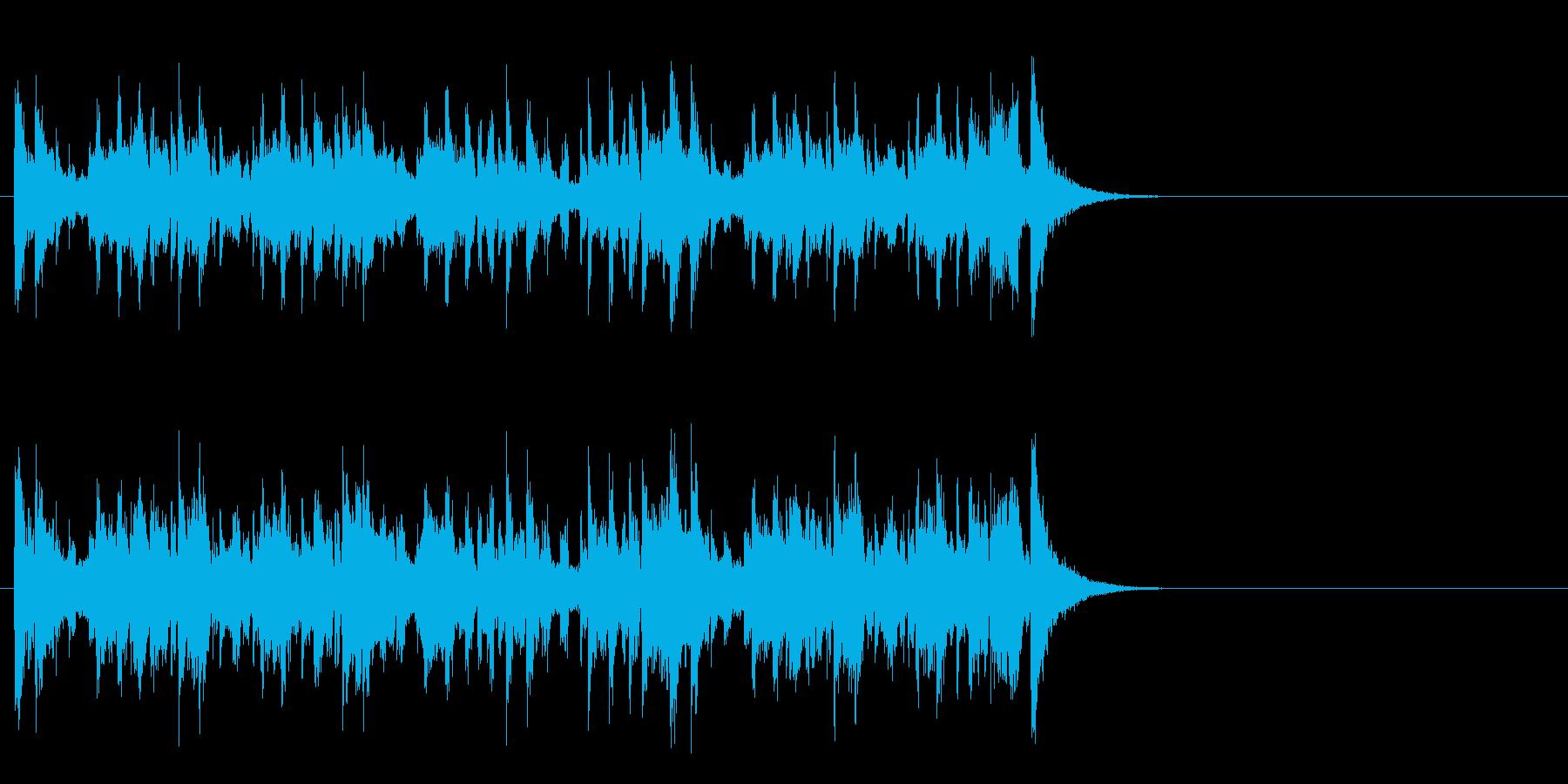 軽妙なファンク ポップ(Aメロ)の再生済みの波形