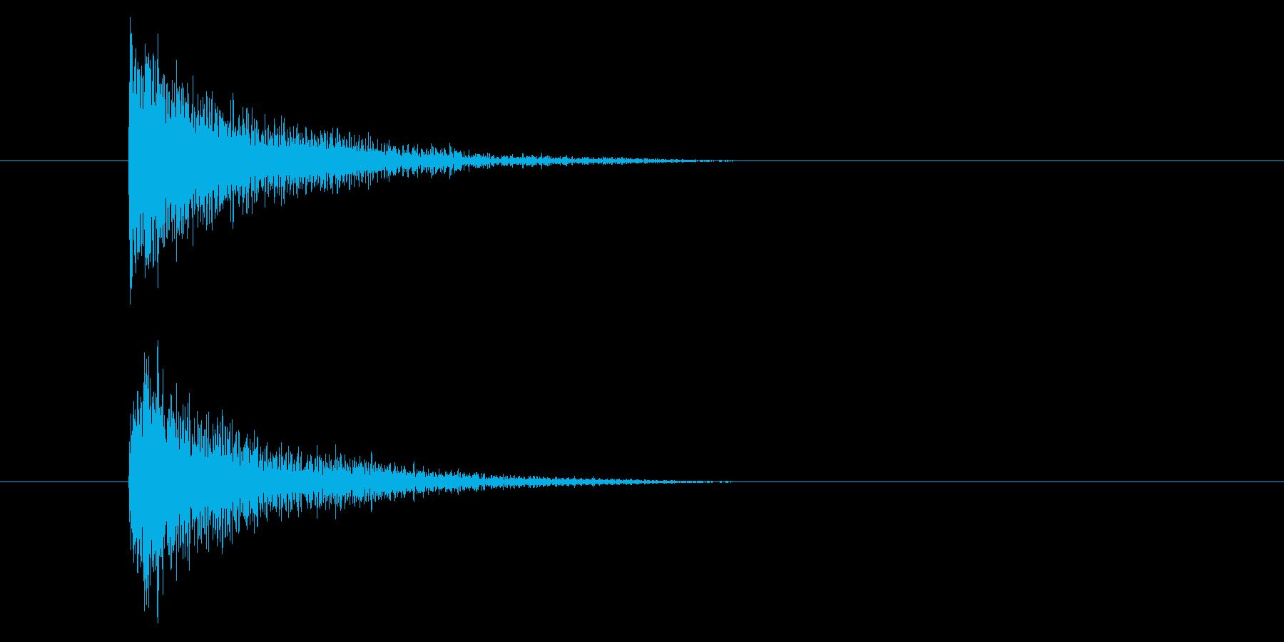 ジャン!和楽器オケヒの再生済みの波形