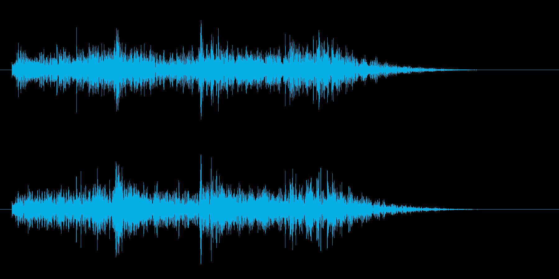【ジングル】少し不思議なアンビエントの再生済みの波形
