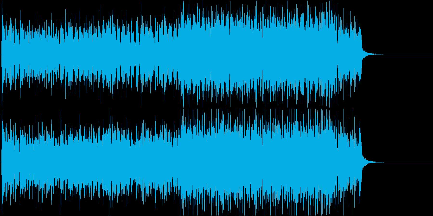 楽しく賑やかなショータイムジャズの再生済みの波形