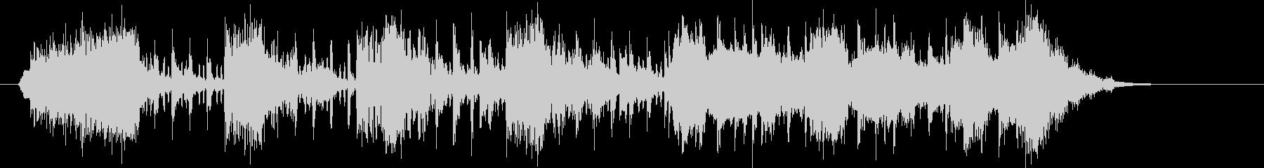 スラップベースとストリングスのグルーブの未再生の波形
