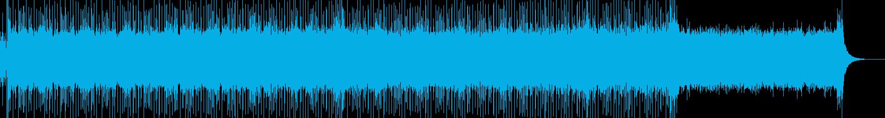 明るくポップな企業イベントVP-31の再生済みの波形