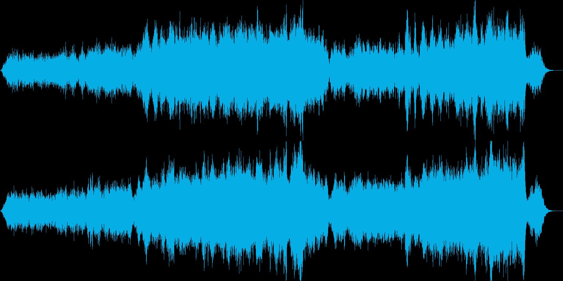 生演奏のバイオリンによるクラシカルな曲の再生済みの波形