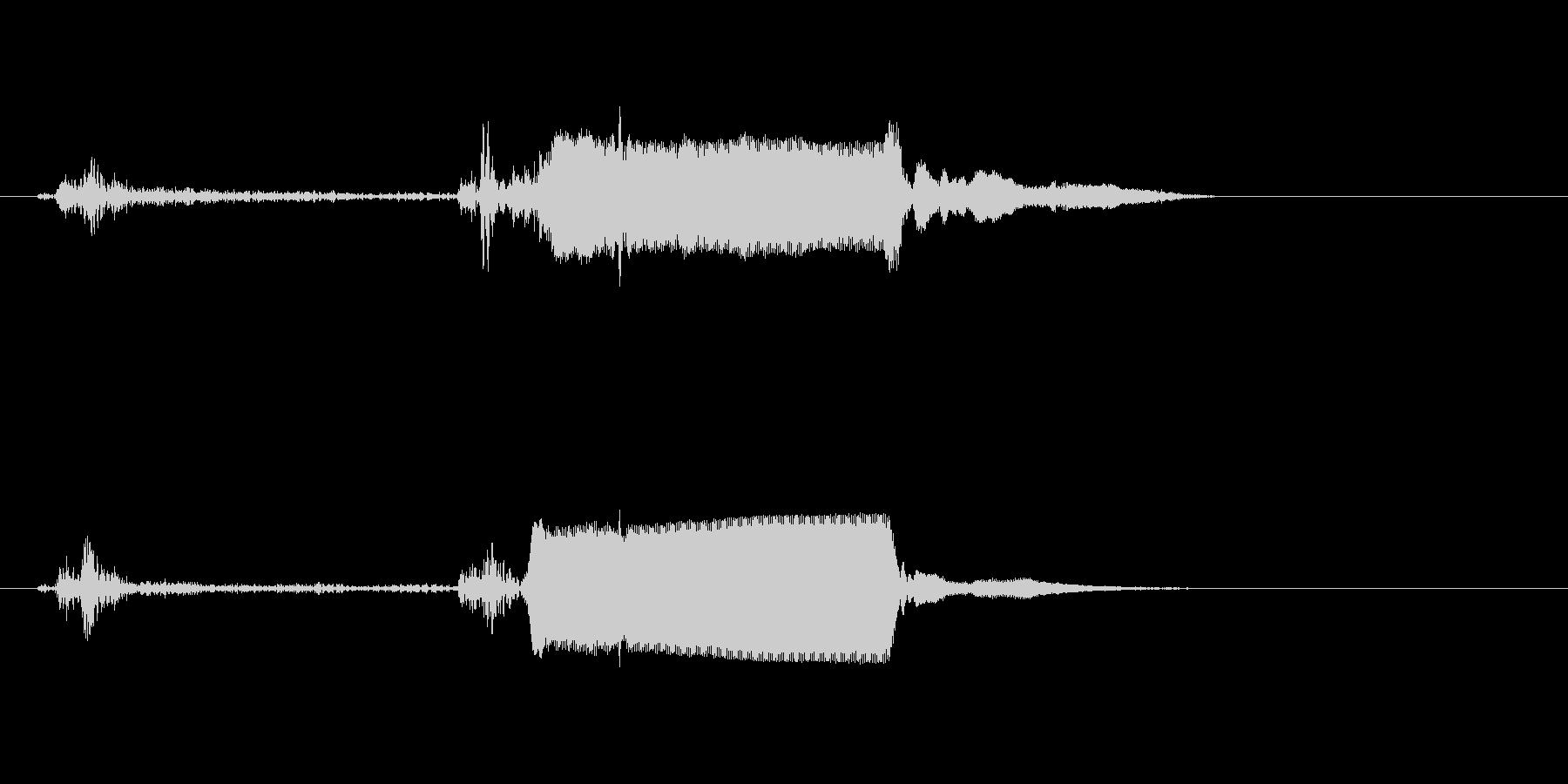 ピピッ!(シンプルなスイッチ音)の未再生の波形