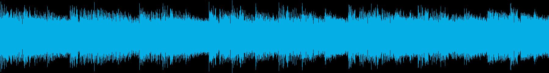シンセ サイレン アナログ ピコピコ10の再生済みの波形
