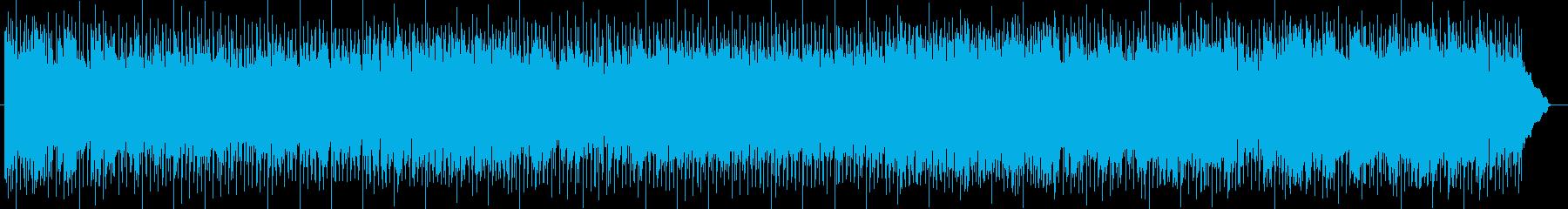 クールで疾走感のあるテクノAORポップの再生済みの波形