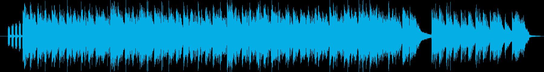 マイナーギターテクノロックのんの再生済みの波形