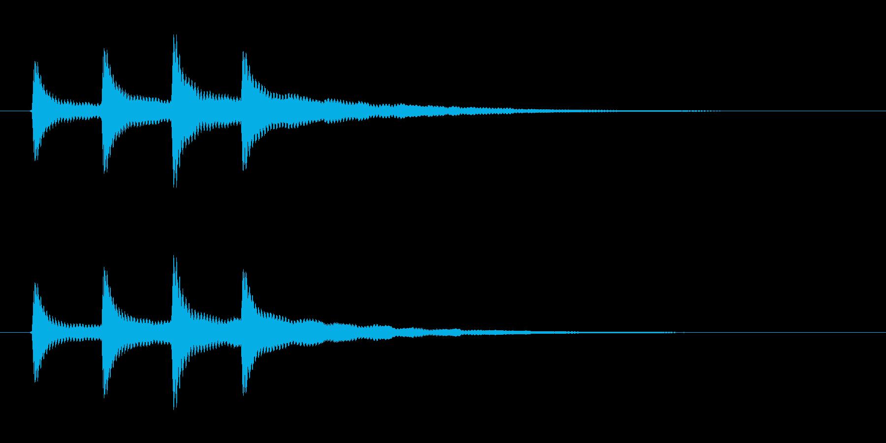ココココンの再生済みの波形