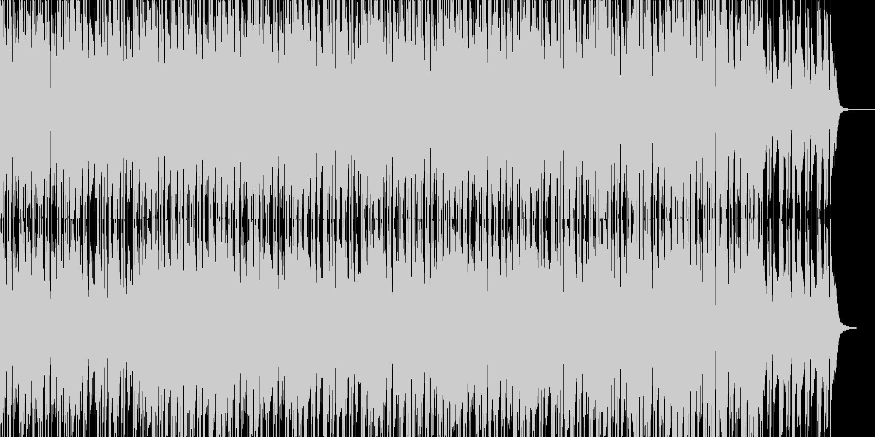 ボコーダーを使用した近未来的なEDMの未再生の波形