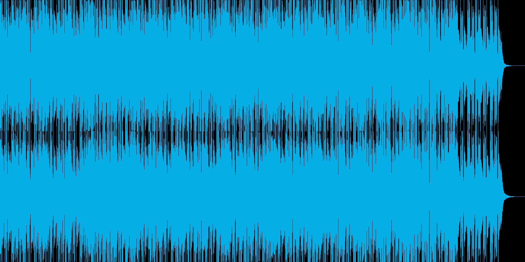 ボコーダーを使用した近未来的なEDMの再生済みの波形